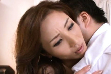 Hitomi. Hitomi Asian has feet and horny neck kissed and feels vagina wet