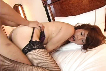 Miki yamashiro. Miki Yamashiro Asian has dark nooky licked and doggy screwed