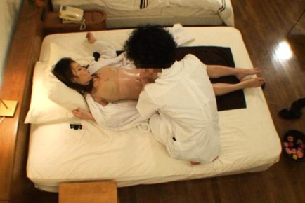 Rika araki. Rika Araki Asian is turned on by masseur fondling