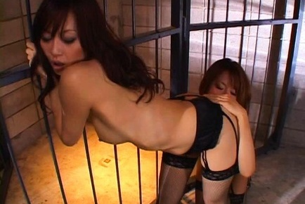 Rino imano. Rino Imano Asian licks large and round hooters of