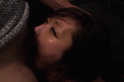 Miwako yamamoto. Miwako Yamamoto Asian shows nasty behind while cock sucking joystick