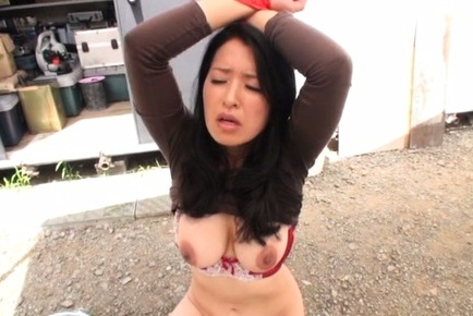 Yuko kasatsuki. Yuko Kasatsuki Asian with huge cans has haired